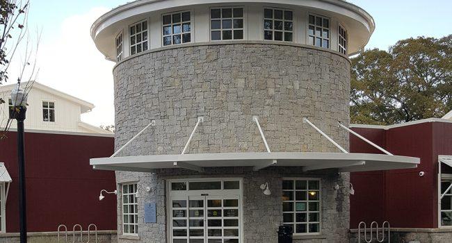 External photo of the Milton Library