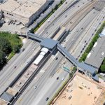 aerial view of Marta Buckhead Bridge
