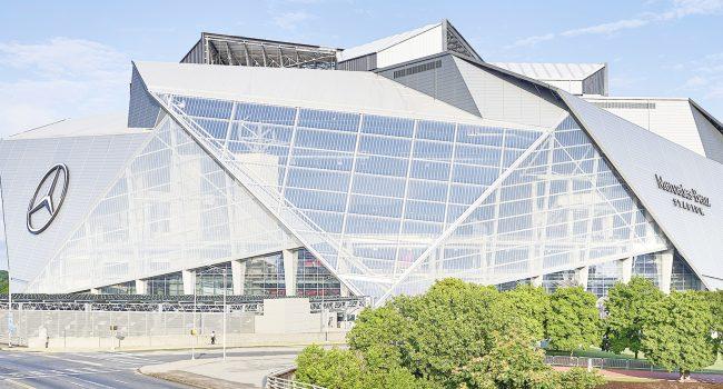 Mercedes Benz Stadium in Atlanta, Georgia (USA)