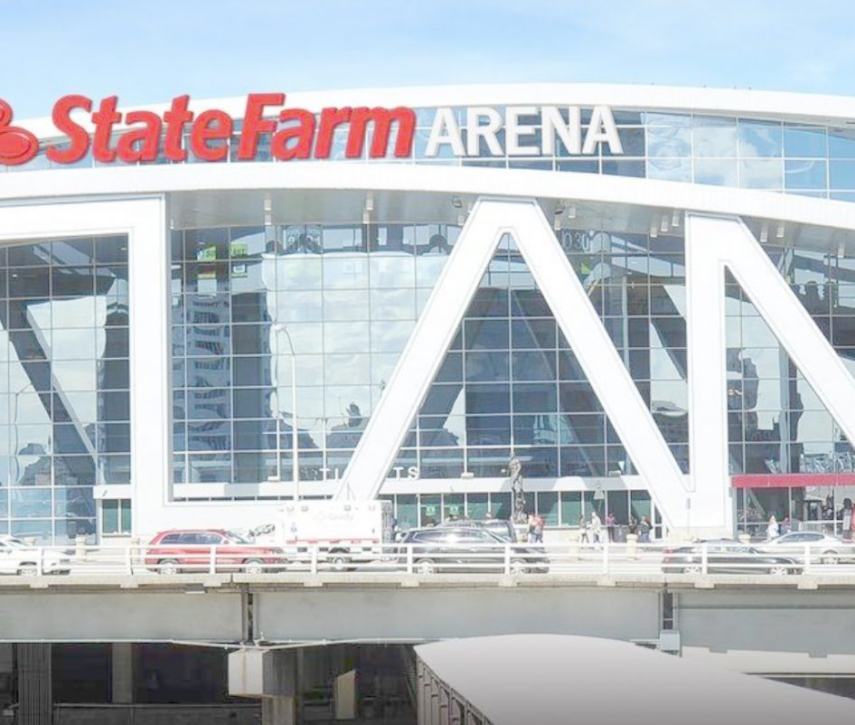 State Farm Arena in Atlanta, Georgia (USA)